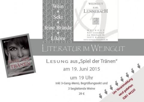 Literatur im Weingut