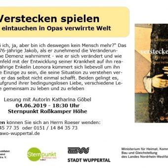 Plakat Lesung Wuppertal